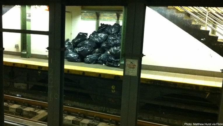 147b30b1-Trash bags in subway photo courtesy Matthew Hurst via Flickr