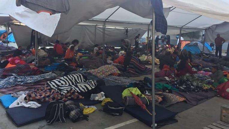 Immigrants in Tijuana