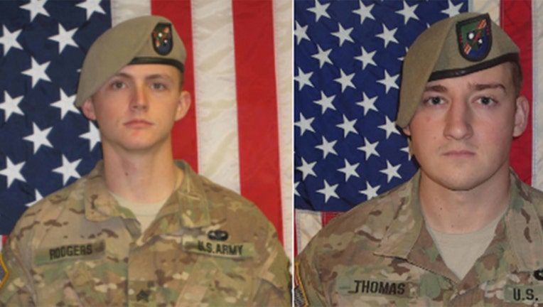 Pentagon probes deaths of U S  Army Rangers killed in ISIS