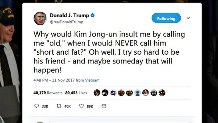 265a43ad-Trump tweet about Kim Jong-un being short and fat