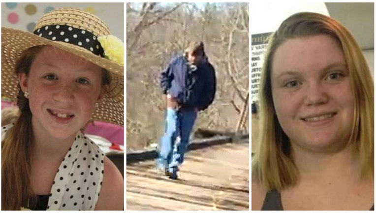 Man suspected of killing Abby Williams and Liberty German