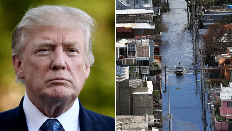 President Trump to visit Puerto Rico (GETTY IMAGES)-401720