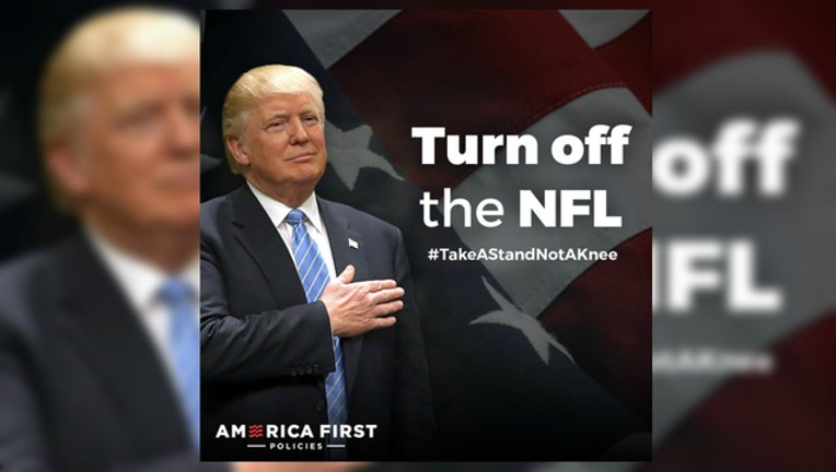 32c93eaf-Take a stand not a knee NFL Boycott ad from America First Policies