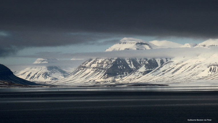 Svalbard image from Guillaume Baviere via Flickr
