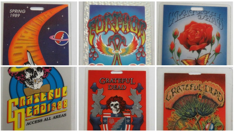 36d943ac-Grateful Dead all-access passes to be auctioned