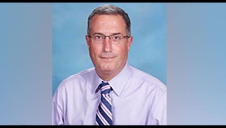 Catholic school principal Michael Comeau