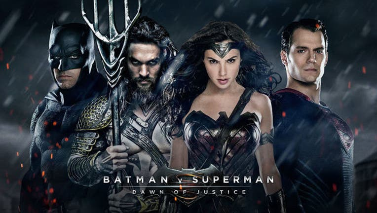 Batman vs Superman promotional image courtesy Warner Bros