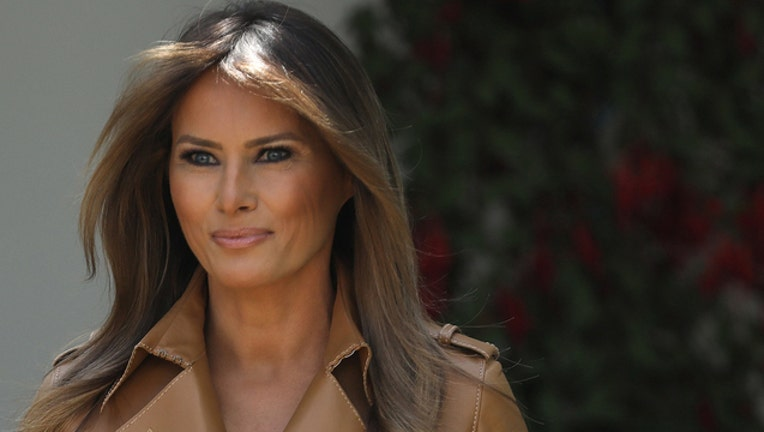 First lady Melania Trump (GETTY IMAGES)-401720-401720