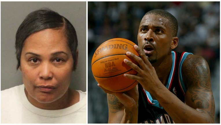 4eb6884c-GETTY Sherra Wright charged with murder of her ex-husband Lorenzen Wright