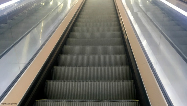 4f190804-Escalator file photo by Alan Levine via Flickr
