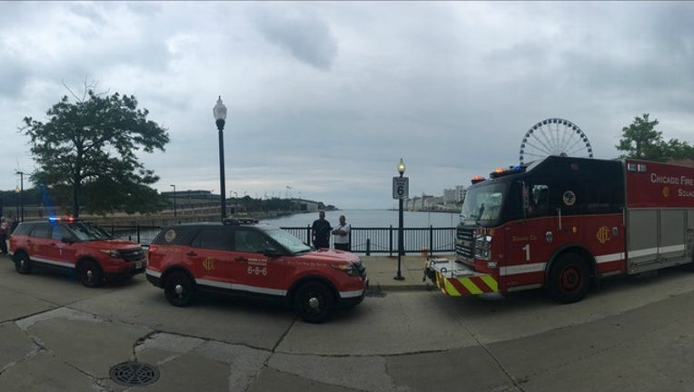 587153fd-A sailor in the famous Race to Mackinac on Lake Michigan fell overboard and vanished Saturday afternoon.
