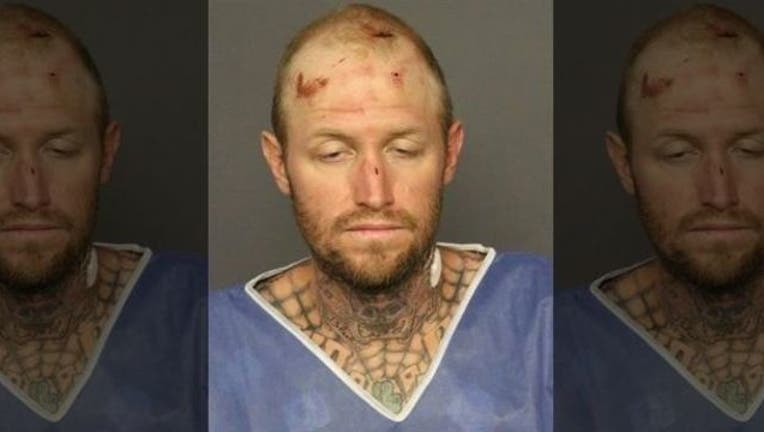 5ce0d31f-Thomas Busch is accused of stealing a tractor and biting a police dog