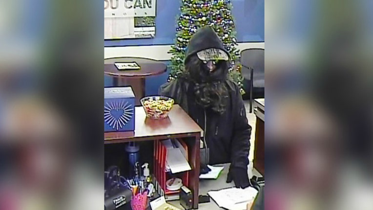 Bank Robber in Cary