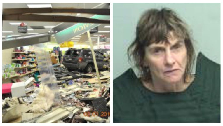 69215f1d-Nina Allen is accused of crashing into a CVS in Zion