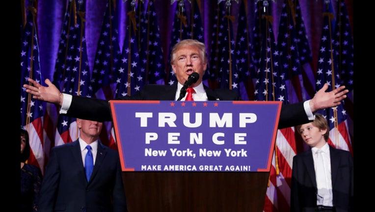GETTY Trump on election night-401720