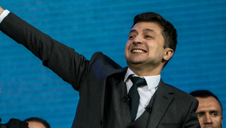 GETTY Volodymyr Zelenskiy was a comedian before he ran for president of Ukraine.