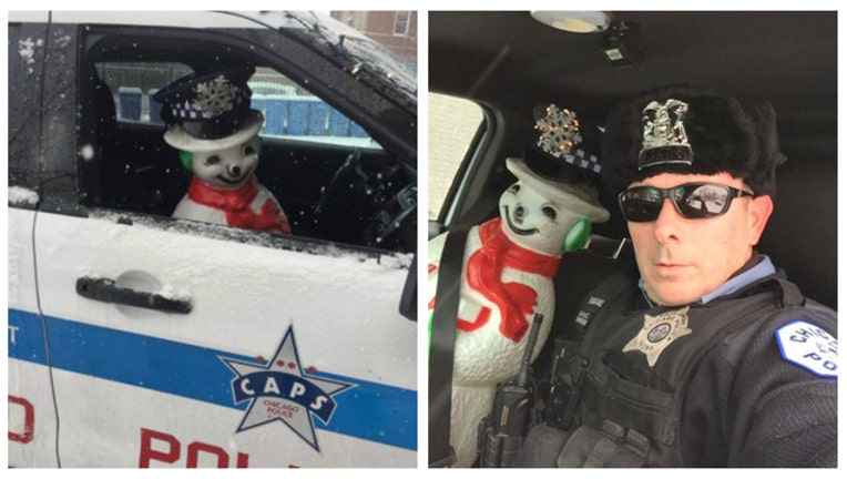 CPD Rookie Officer Frost