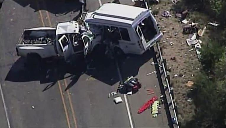 Witness says driver of pickup truck that caused deadly accident admits he was texting