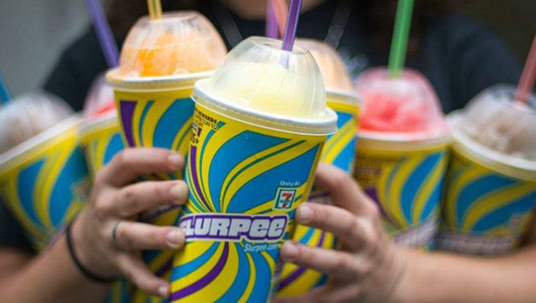 Free Slurpee Day at 7-Eleven is 7-11 (image courtesy 7-Eleven)-404023-404023