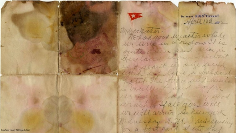 981dcc19-Titanic letter sells for record amount