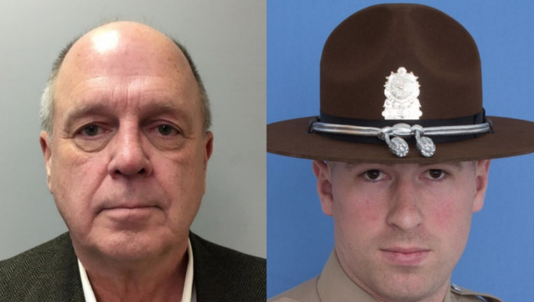 $250K bail for man charged with killing state trooper in I