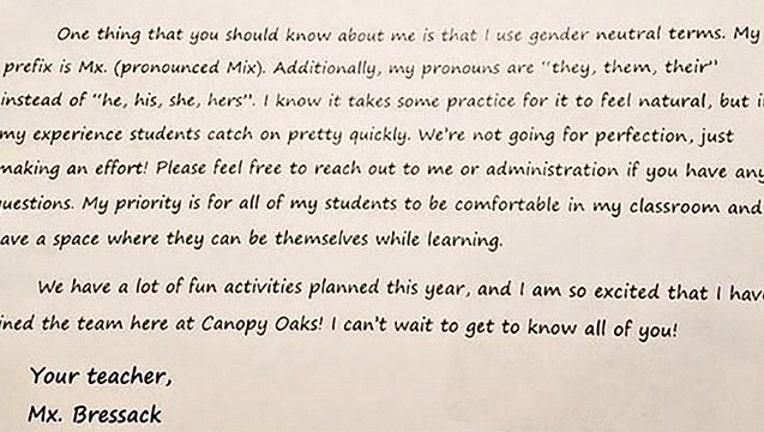 a4986f1d-Teacher asks students to use gender-neutral pronouns