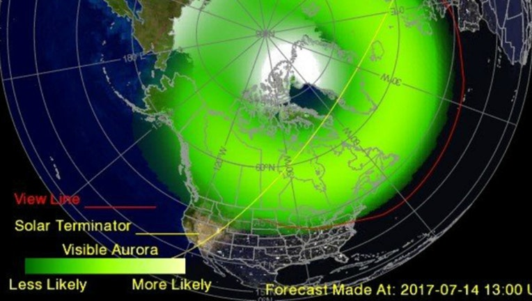 Northern Lights Could Be Visible Tonight In Parts Of