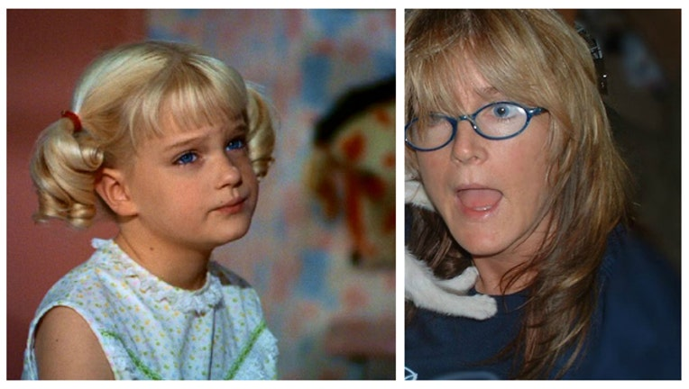adc0be6b-Susan Olsen as Cindy Brady and in her own current Twitter profile image