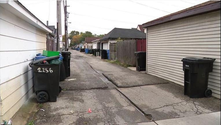 Toddler shot dead in alleyway