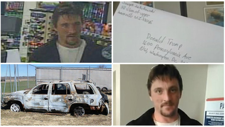 c33e4853-Joseph Jakubowski is accused of stealing guns and threatening an attack