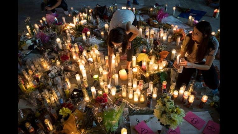 Las Vegas shooting memorial - GETTY-407068