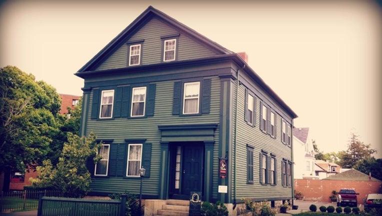 Lizzie Borden's house taken by Jim McIntosh via Flickr