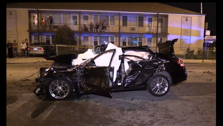 Police: One Person Dies In Garfield Ridge Car Accident