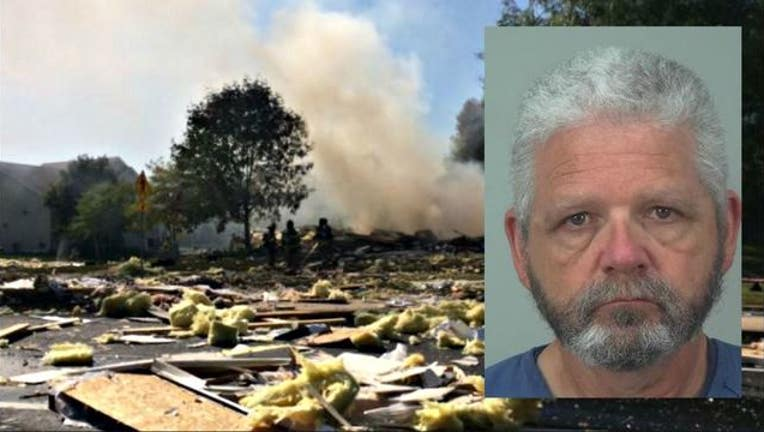 d3ff11fe-Madison Wisconsin man accused of blowing up house, killing wife