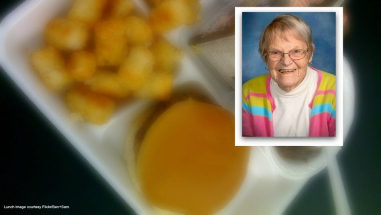 A donor gave $500 to pay off all the lunch debts of 150 students in one Ohio city in honor of a lunch lady - lunch image courtesy flickr ben+sam