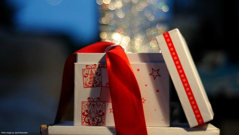 Christmas gift or present file photo