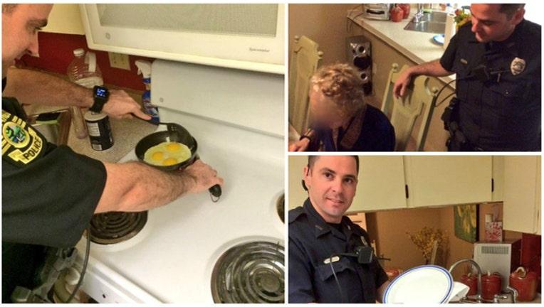 e6993dd1-Orlando Police help elderly woman (Photos courtesy Orlando Police Department)