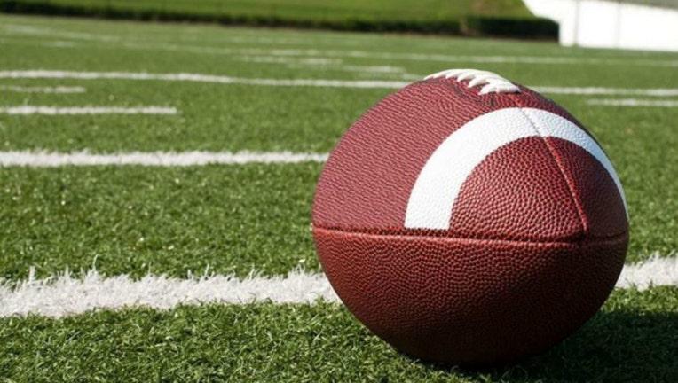 Football on field generic