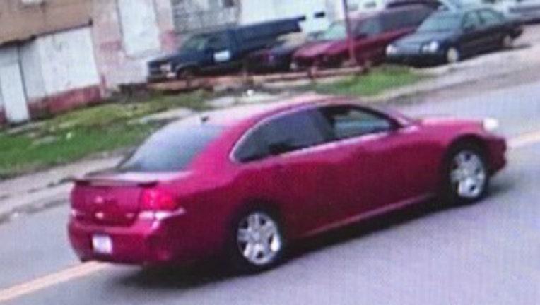 Gary shooting suspect's car