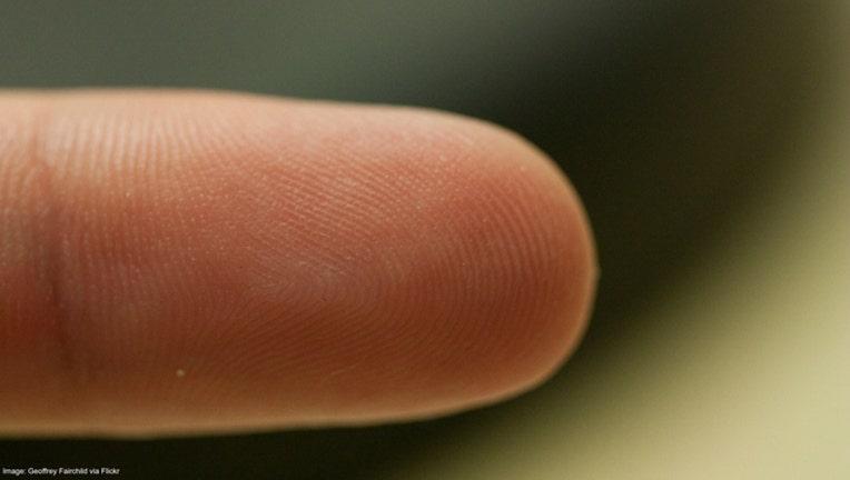 Fingerprint stock image from Geoffrey Fairchild via Flickr