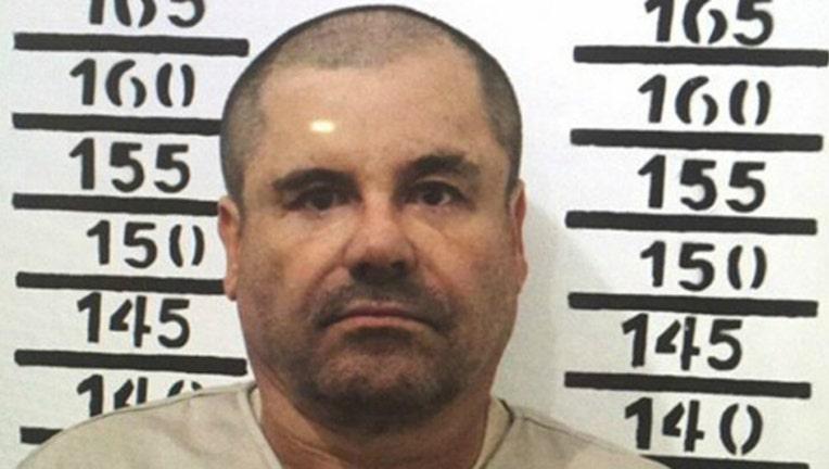 Joaquin El Chapo Guzman Mug Shot-402970-402970