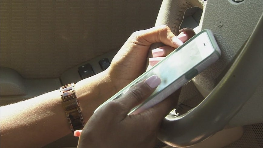 Cook County Sheriff cracking down on distracted drivers with cell phones