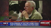 Thousands of fetal remains found in deceased doctor's garage are nearly 2 decades old, official says