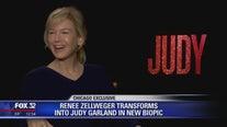 Renée Zellweger talks about channeling Judy Garland in new movie