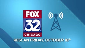 Rescan your TV Oct. 18 to watch FOX 32