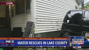Several people rescued in Lake County overnight flooding