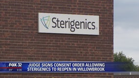 Judge OKs agreement to reopen Sterigenics in suburban Chicago