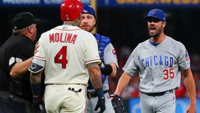Cardinals lose to Cubs, NL Central race goes to final day