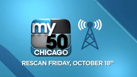 Rescan your TV Oct. 18 to watch My50