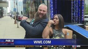 WWE superstar Braun Strowman previews 'Friday Night Smackdown' on FOX 32